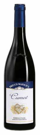 Cumot Nebbiolo d'Alba DOC - Bricco Maiolica