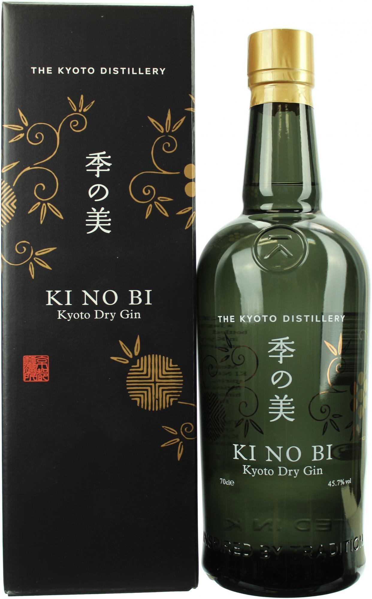 KI NO BI Kyoto Dry Gin 45,7% 70cl